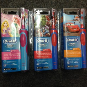 kindertandenborstels Oral B